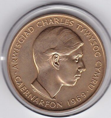 1969  Prince  Charles  Investiture   Medal