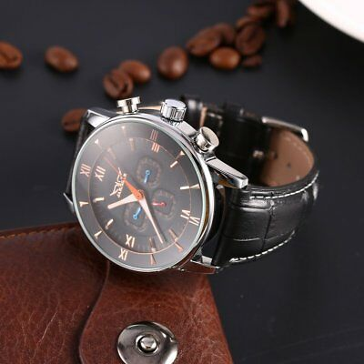 Fully Automatic Mechanical Men's Watch Business Roman Numeral Big Watch Dial MJ