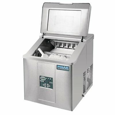 POLAR Counter Top Bullet Ice Maker Commercial Stainless Steel 17kg output G620-A