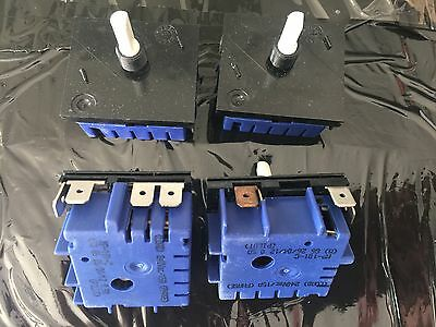 4x Genuine Westinghouse Freestyle 143 Cooktop Hotplate Control Switch PAJ143W*00
