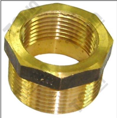RHEEM DUX  HOT WATER ANODE   BRASS ADAPTOR  1.1/4 Inch BSP to 1Inch