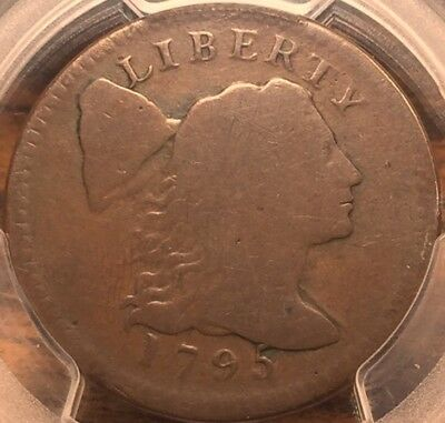 1795 Liberty Cap Large Cent - Plain Edge - PCGS G04