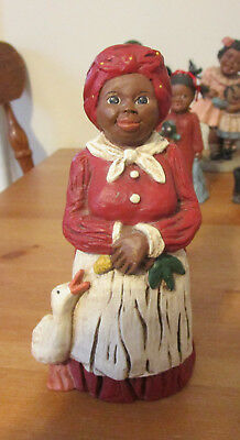 Martha Holcome Collectible African American Figurines Annie Mae