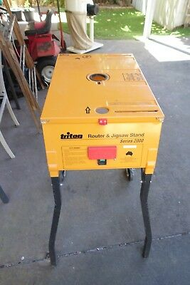Triton Router & Jig Saw Stand
