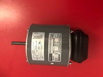 GENUINE FASCO AIR CONDITIONER  Condenser Fan Motor 8061S059-04 6 Pole 900 rpm