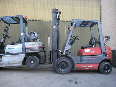Toyota Forklift 2 Ton 6Fg20 , Side Shift , Lpg , 3.7 Mtr Lift , Solid Tyres