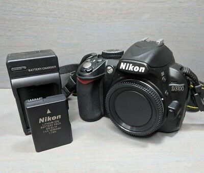 Nikon D3100 14.2MP Digital SLR Camera Body - Only 8K Shutter Count