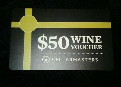Cellarmasters wine voucher