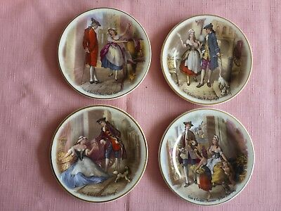 Staffs Teaset Co Ltd Plex St Pottery Tunstall Cries Of London Pin Dish X 4