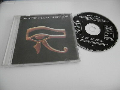 The Sisters Of Mercy Vision Thing Cd 8 Tracks 1990 East West Inc. Ribbons More