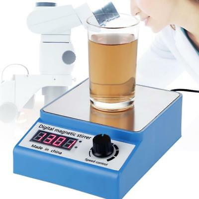 3000rpm Digital Thermostatic Magnetic Heating Mixer Lab Stirrer Plate Control