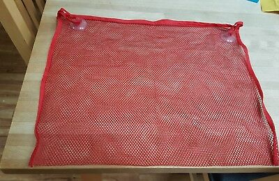 Red New  Bath Net Tidy With Suction Pads