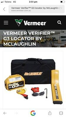 Cable Locator Service Finder Underground Vermeer G3 by McLaughlin 2018
