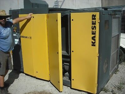 Kaeser Dsd 241 Rotary Screw Compessor + Receiver + Drier.