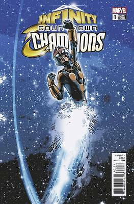 Marvel Infinity Countdown Champions #1 Variant First Print