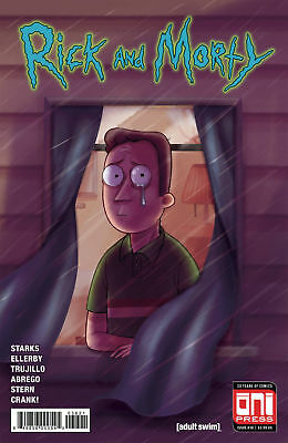 Oni Press Rick And Morty #36 Variant First Print