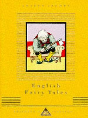 English Fairy Tales by Joseph Jacobs (English) Hardcover Book Free Shipping!
