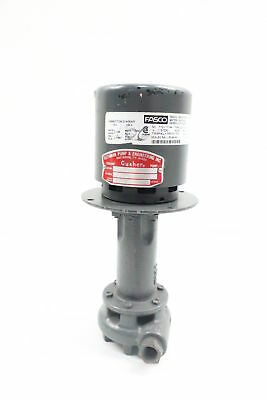 New Ruthman 1P3-S Gusher Coolant Pump 3/8in 1/25hp 115/230v-ac