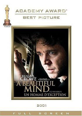 A Beautiful Mind (Dvd, 2002, Two-Disc Awards Edition Widescreen) New Sealed