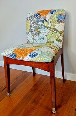 Mid Century Feature Dining Chair. Free Delivery Within Peninsula, Central Coast