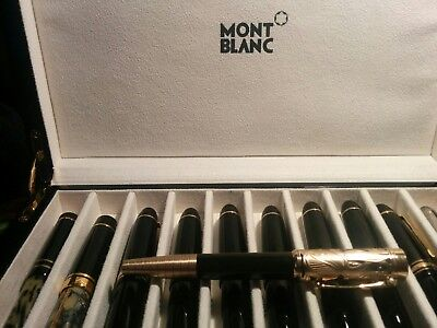 Montblanc Writers Edition 2011 Carlo Collodi Roller Ball Used Excellent USA Sale