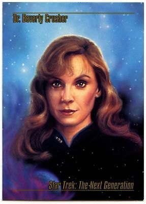 Dr. Beverly Crusher #15 Star Trek Master Series 1993 Skybox Trade Card (C89A)