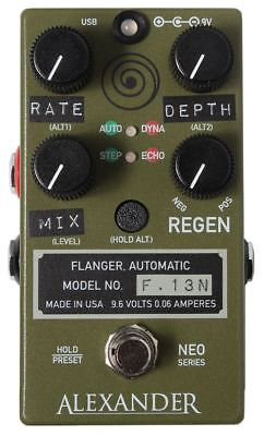 Alexander Neo Series F-13 Neo Flanger Pedal