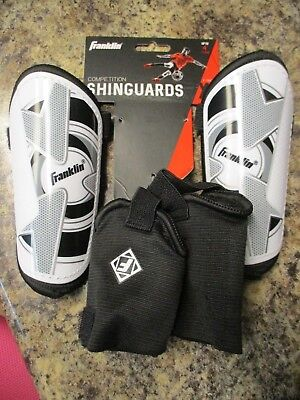 Kids Franklin Soccer Competition Shin Guards Xs  Up To 4' Brand New Fast Ship