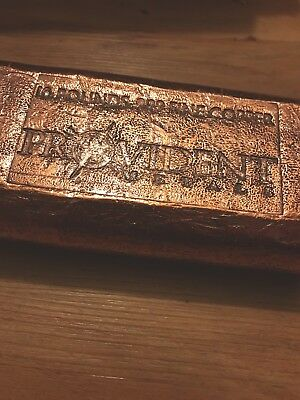 Provident Metals Copper Bar 10 Pounds .999 Fine Copper Cast Hefty BBPC-01893