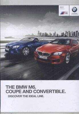 2015 BMW US M6 Coupe & Convertible Brochure wz4177