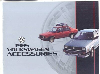 1985 Volkswagen US Accessories Brochure wz4180