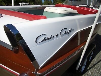 1957 21' Chris Craft Continental w/Fins 5200 no soak bottom very good condition