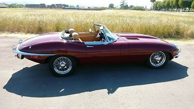 1970 Jaguar E-Type xke roadster 1970 Jaguar XKE Roadster