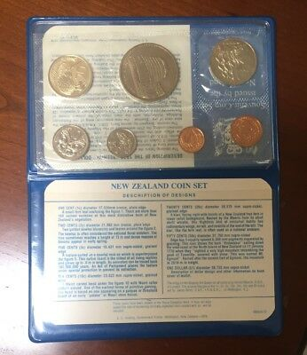 New Zealand - 1978 - Annual Uncirculated Coin Set - Beehive