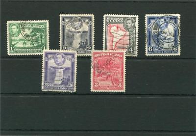 British Guiana. 6 -- G6  Used Stamps On Stockcard