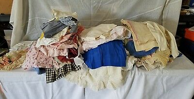 Lot Of Antique Vintage Baby Clothes Doll 125+ Pieces!