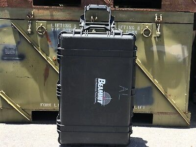 "Pelican 1650 Black Rolling Hard Case With Foam | 30"" x 19"" x 11"""