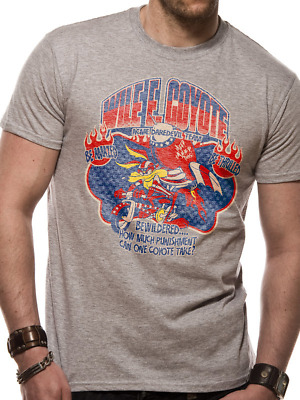 Looney Tunes - Wile E Coyote Men's X-Large T-Shirt - Grey