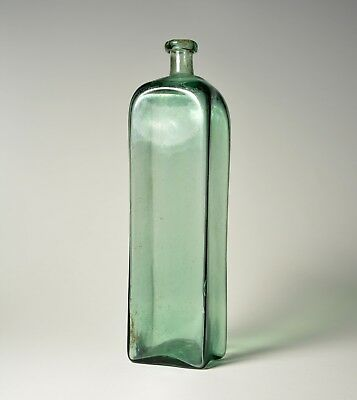 Rare early 1800's Case Bottle Flask / German Half Post Method / Central Europe