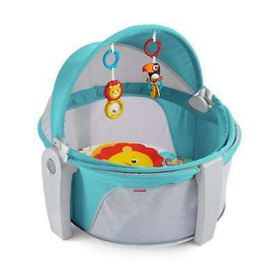 Fisher Price Play Space & Napping On-the-Go Baby Travel Dome (Open Box)