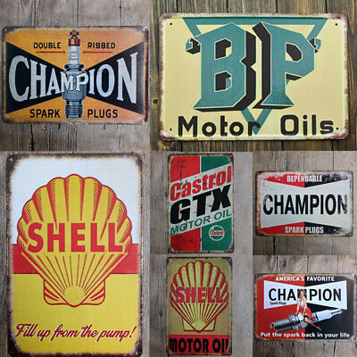 Simple Tin Sign Wall Decor Metal Bar Plaque Pub Poster Retro Vintage Tavern Shop