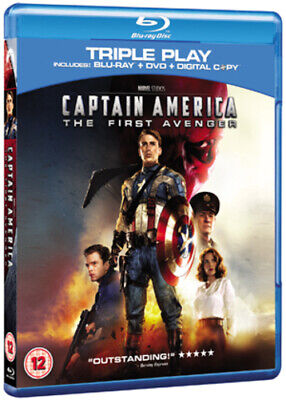 Captain America: The First Avenger Blu-ray (2011) Chris Evans