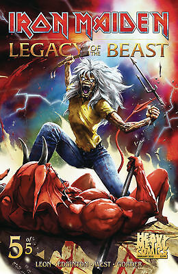 Iron Maiden Legacy Of The Beast #5 Cvr A (Heavy Metal, 2018) NM