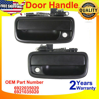 Front Exterior Door Handle For 95-04  Toyota Tacoma,Driver and Passenger Side