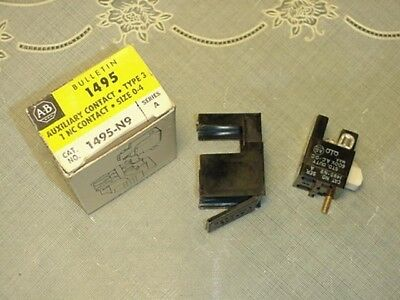 Allen Bradley 1495-N9 Auxiliary Contact NEW IN BOX