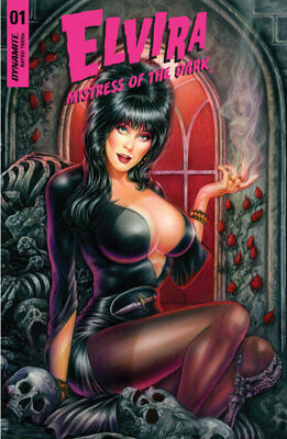Elvira: Mistress of the Dark #1 by Monte Michael Moore Variant Pre-Order LTD 500