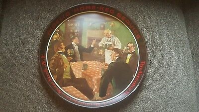"The Greater New York Brewery, 12"" Fidelio Tavern Party Beer Tray 1940s"