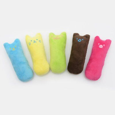 Fuuny gift Teeth Pillow Puppy Cat Pet Interactive Scratch Kicker Grinding Toy HU