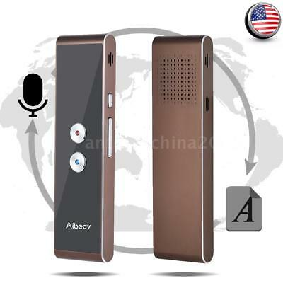 Portable Smart Translator Professional Multi-Languages Translation Device Z6D7
