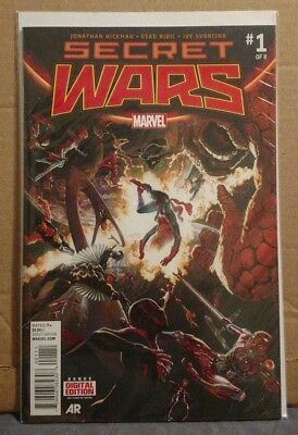 Marvel Secret Wars #1-9 Comic Books First Editions VF-NM 2015 Event Series